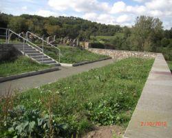 Friedhofsmauer